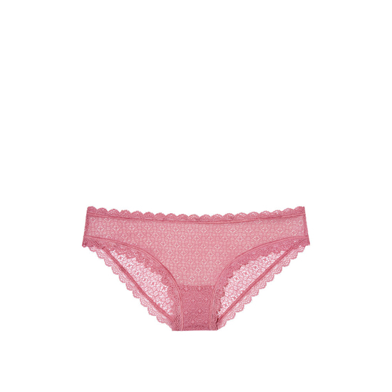Cheap VICTORIA\'S SECRET Rosy Mauve NEW! Lace Cheekini Panty Online