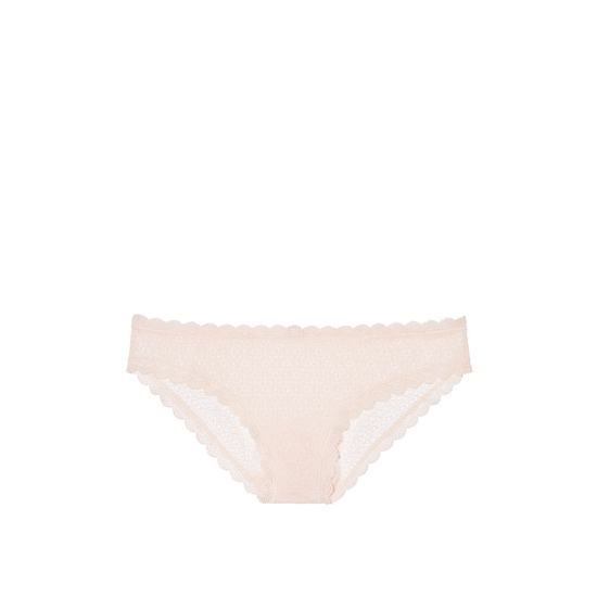 Cheap VICTORIA\'S SECRET Pink Ivory NEW! Lace Cheekini Panty Online