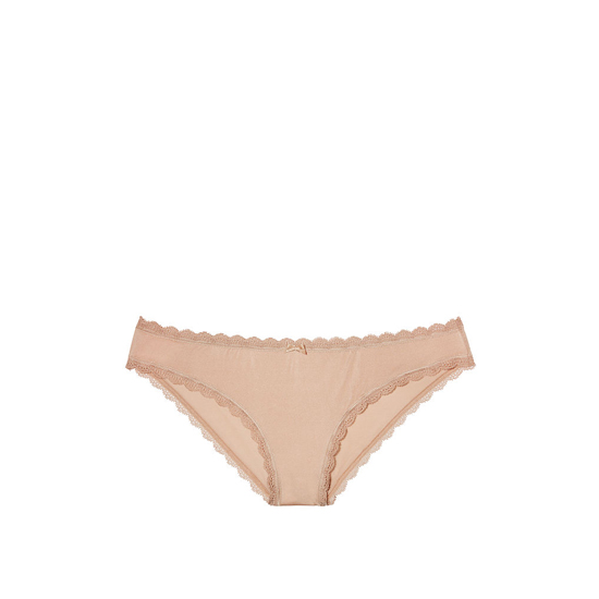 Cheap VICTORIA\'S SECRET Nude Lace Trim Lace-trim Cheekini Panty Online