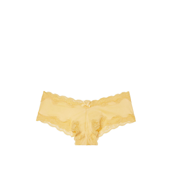 Cheap VICTORIA\'S SECRET Light Comet NEW! Lace-Trim Cheeky Panty Online