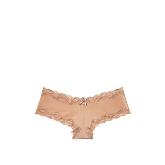 Cheap VICTORIA\'S SECRET Light Nude NEW! Lace-Trim Cheeky Panty Online