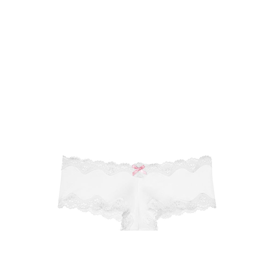 Cheap VICTORIA\'S SECRET White NEW! Lace-Trim Cheeky Panty Online