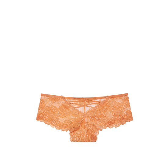 Cheap VICTORIA\'S SECRET Gold Earth NEW! Strappy Lace Cheeky Panty Online