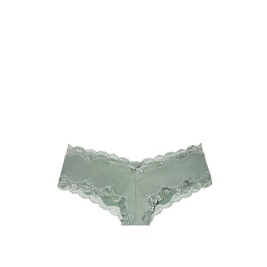 Cheap VICTORIA\'S SECRET Silver Sea Lace-Up Cheeky Panty Online