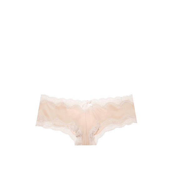 Cheap VICTORIA\'S SECRET Champagne NEW! Strappy Lace-up Cheeky Panty Online