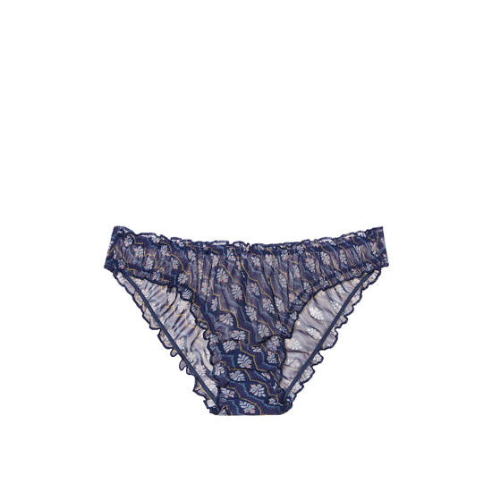 Cheap VICTORIA\'S SECRET Ensign Geo Print NEW! Ruffled Cheekini Bloomer Panty Online