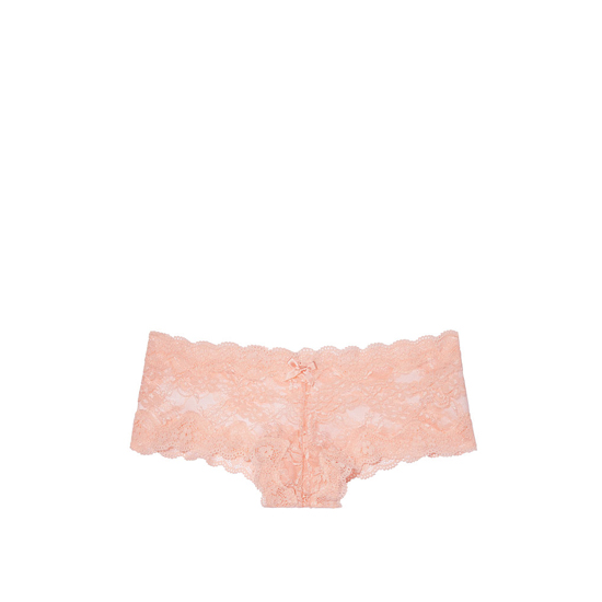 Cheap VICTORIA\'S SECRET Peach Melba NEW! Lace Cheeky Panty Online