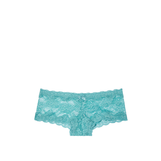 Cheap VICTORIA\'S SECRET Cozumel Teal NEW! Lace Cheeky Panty Online