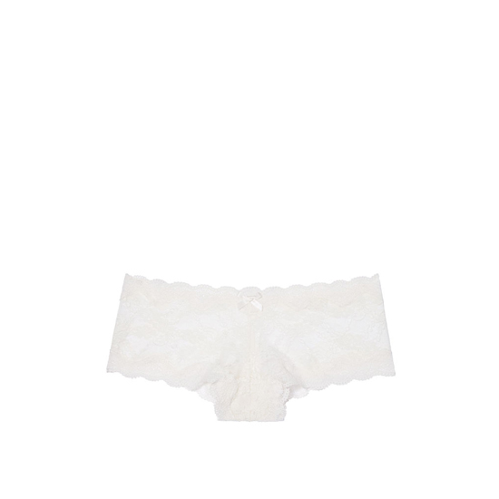 Cheap VICTORIA\'S SECRET Coconut White NEW! Lace Cheeky Panty Online