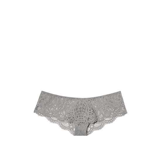 Cheap VICTORIA\'S SECRET Sterling Pewter NEW! Crochet Lace Cheekster Panty Online