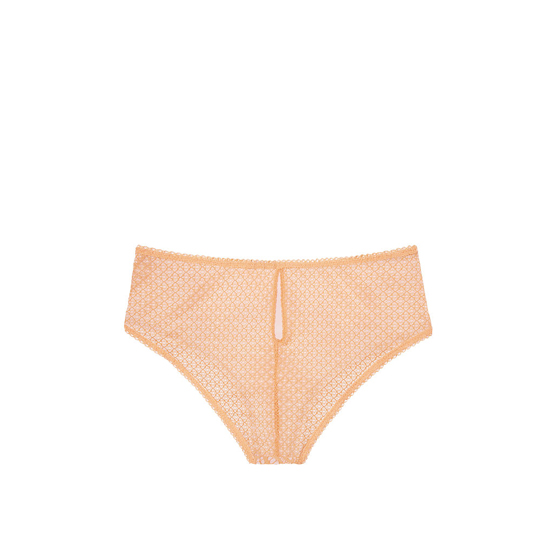 Cheap VICTORIA\'S SECRET Gold Earth NEW! Crochet Lace High-waist Cheeky Panty Online