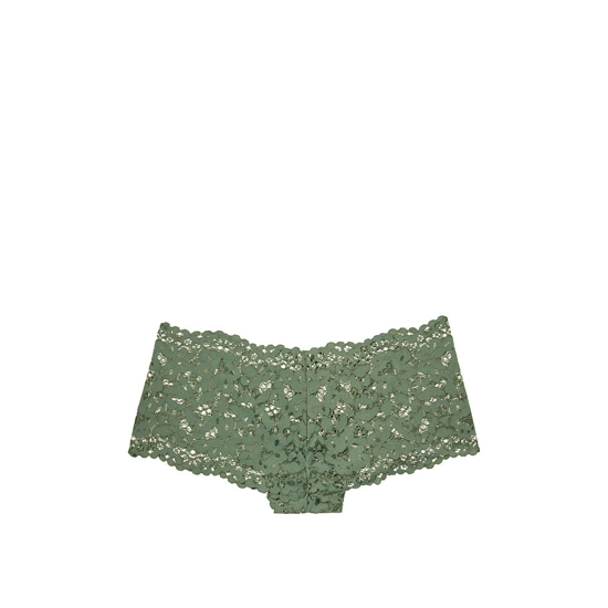Cheap VICTORIA\'S SECRET Cadette Green NEW! The Floral Lace Sexy Shortie Online