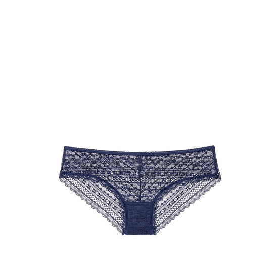 Cheap VICTORIA\'S SECRET Ensign Blue Lace Cheeky Panty Online