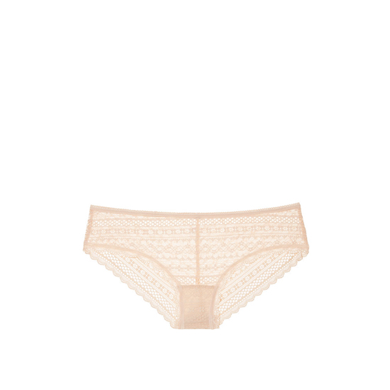 Cheap VICTORIA\'S SECRET Champagne Lace Cheeky Panty Online