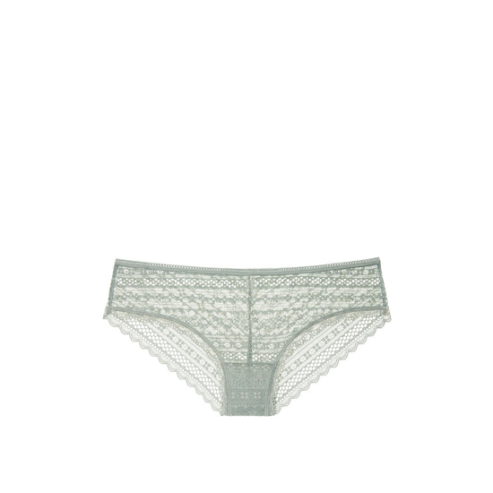 Cheap VICTORIA\'S SECRET Silver Sea Lace Cheeky Panty Online