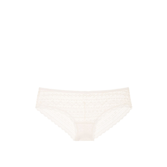 Cheap VICTORIA\'S SECRET Coconut White Lace Cheeky Panty Online