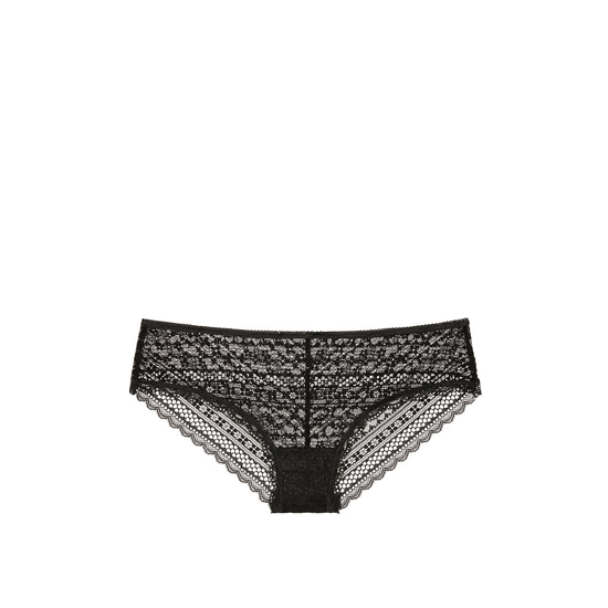 Cheap VICTORIA\'S SECRET Black Lace Cheeky Panty Online