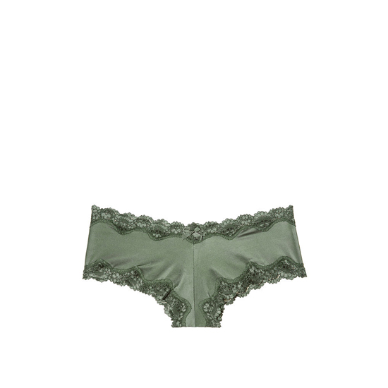 Cheap VICTORIA\'S SECRET Cadette Green Lace-Trim Cheeky Panty Online