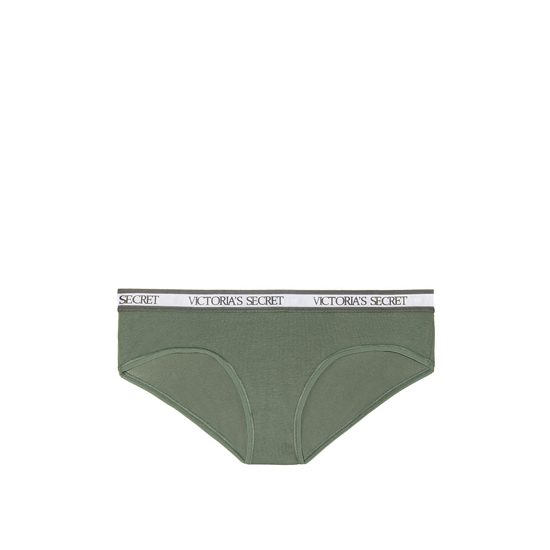 Cheap VICTORIA\'S SECRET Cadette Green NEW! Logo-waist Hiphugger Panty Online