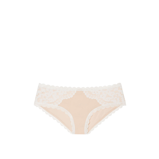 Cheap VICTORIA\'S SECRET Champagne NEW! Lace Hiphugger Panty Online