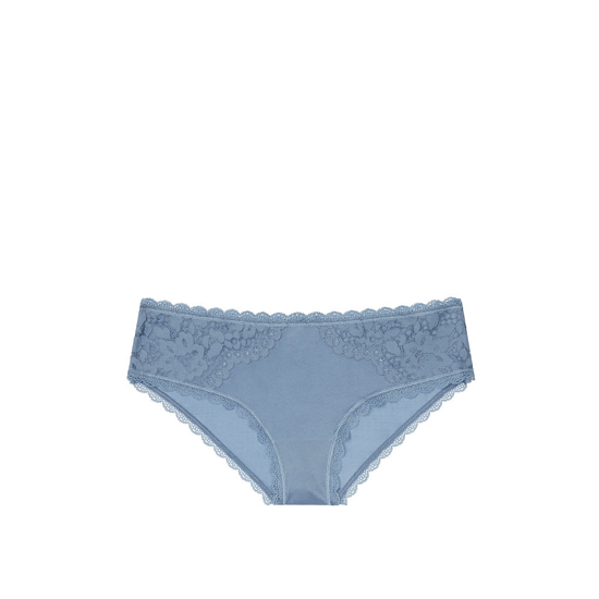 Cheap VICTORIA\'S SECRET Faded Denim NEW! Lace Hiphugger Panty Online
