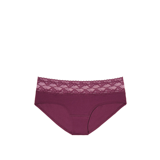 Cheap VICTORIA'S SECRET Ruby Wine Lace-waist Hiphugger Panty Online