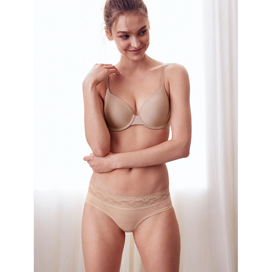 Cheap VICTORIA\'S SECRET Light Nude Lace-waist Hiphugger Panty Online