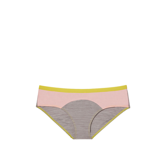 Cheap VICTORIA\'S SECRET Smoky Pearl Colorblock NEW! Marl Hipster Panty Online