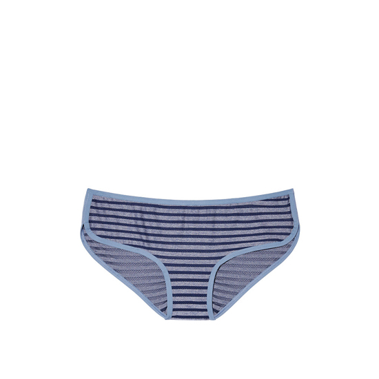 Cheap VICTORIA\'S SECRET Ensign Blue Shadow Stripe NEW! Marl Hipster Panty Online