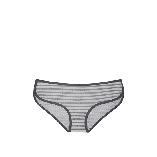 Cheap VICTORIA\'S SECRET Sterling Pewter Shadow Stripe NEW! Marl Hipster Panty Online