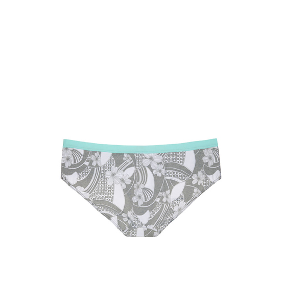 Cheap VICTORIA\'S SECRET Grey Floral Wave Print Colorblock NEW! Marl Hipster Panty Online