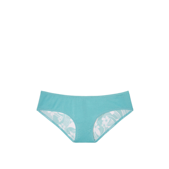 Cheap VICTORIA\'S SECRET Cozumel Teal Mesh NEW! Ruched-back Hiphugger Panty Online