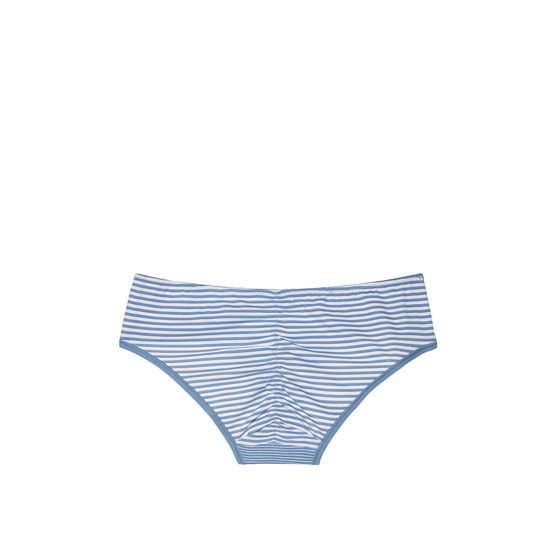 Cheap VICTORIA\'S SECRET Faded Denim Skinny Stripe NEW! Ruched-back Hiphugger Panty Online