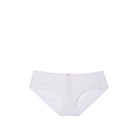 Cheap VICTORIA'S SECRET White NEW! Heart Ruched-back Hiphugger Panty Online