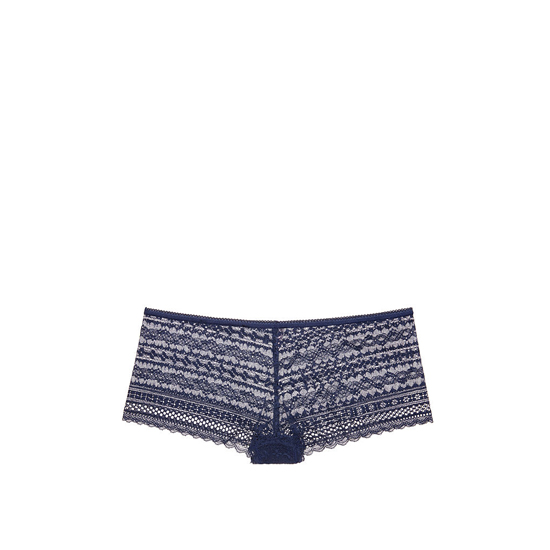 Cheap VICTORIA\'S SECRET Ensign Blue NEW! Lace Shortie Panty Online