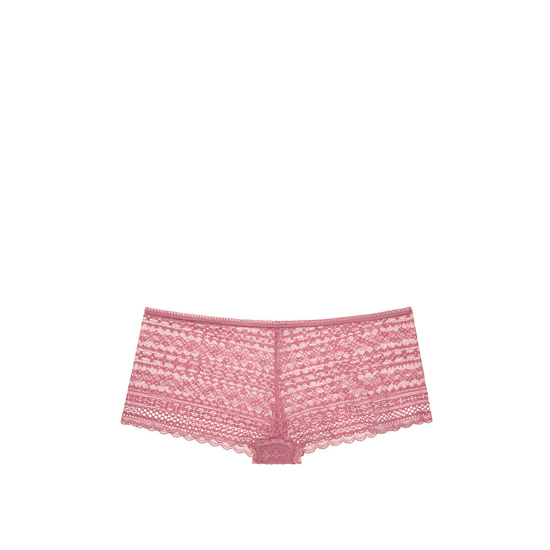 Cheap VICTORIA\'S SECRET Rosy Mauve NEW! Lace Shortie Panty Online