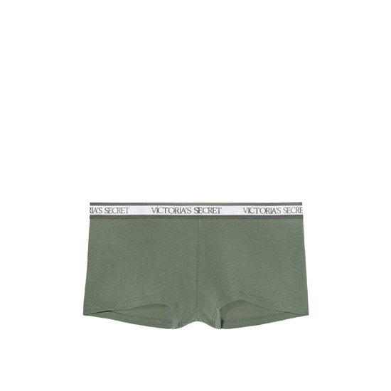 Cheap VICTORIA'S SECRET Cadette Green NEW! Logo-waist Shortie Panty Online