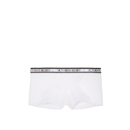 Cheap VICTORIA\'S SECRET White NEW! Logo-waist Shortie Panty Online