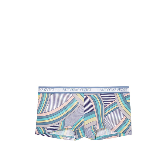 Cheap VICTORIA\'S SECRET Indigo Curved Stripe NEW! Logo-waist Shortie Panty Online