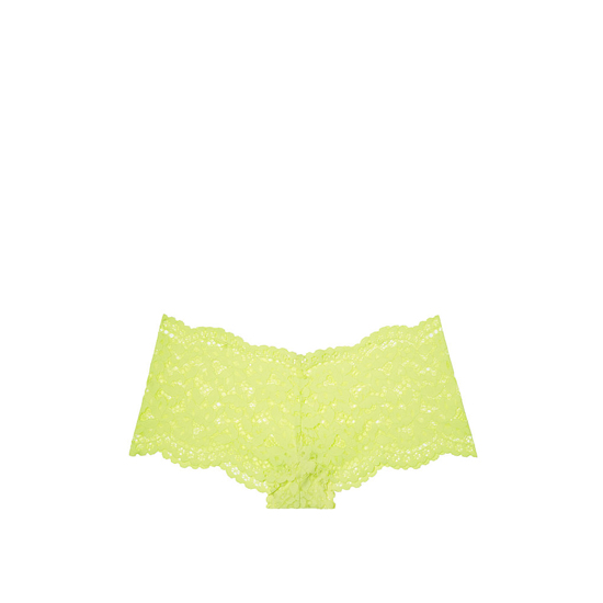 Cheap VICTORIA\'S SECRET Lime Citron NEW! The Floral Lace Sexy Shortie Online