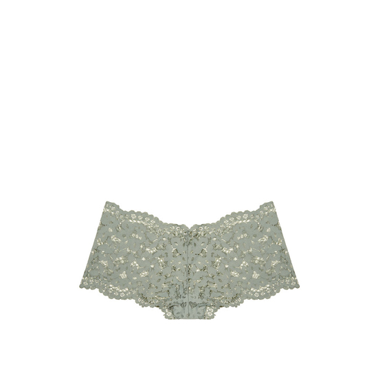 Cheap VICTORIA\'S SECRET Silver Sea NEW! The Floral Lace Sexy Shortie Online