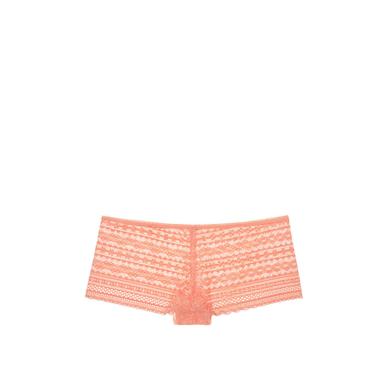 Cheap VICTORIA\'S SECRET Lip Smacker Peach NEW! Lace Shortie Panty Online