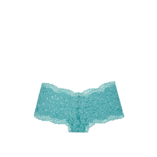 Cheap VICTORIA\'S SECRET Cozumel Teal The Floral Lace Sexy Shortie Online