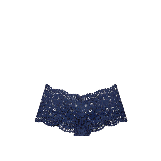 Cheap VICTORIA\'S SECRET Ensign Blue The Floral Lace Sexy Shortie Online