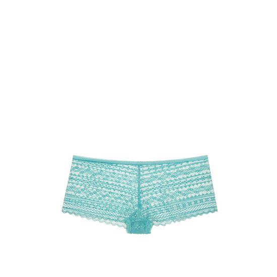 Cheap VICTORIA'S SECRET Cozumel Teal NEW! Lace Shortie Panty Online