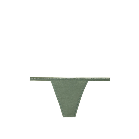 Cheap VICTORIA\'S SECRET Cadette Green NEW! V-string Panty Online