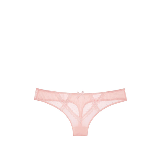 Cheap VICTORIA\'S SECRET English Rose NEW! Lace Cutout Thong Panty Online