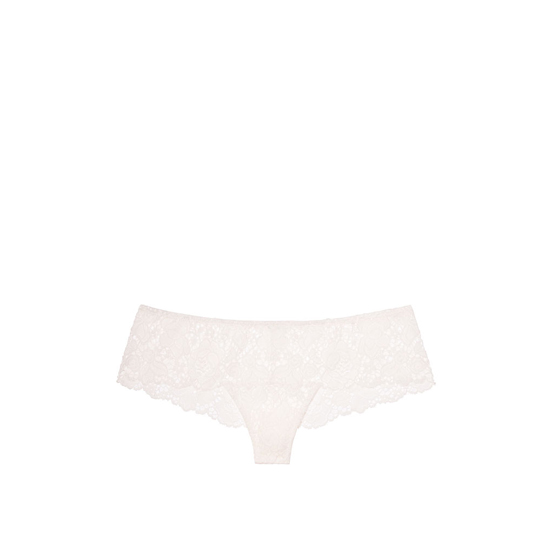 Cheap VICTORIA\'S SECRET Coconut White NEW! Floral Lace Thong Panty Online