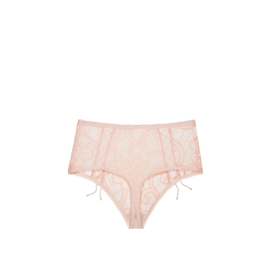 Cheap VICTORIA\'S SECRET English Rose NEW! Lace High-waist Thong Panty Online