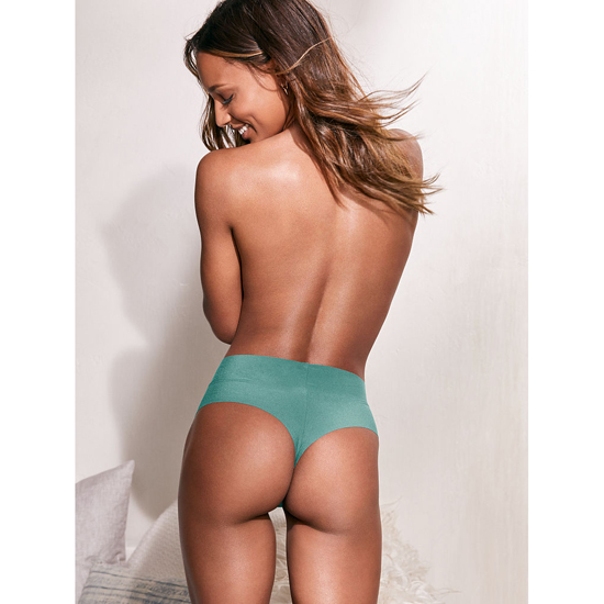 Cheap VICTORIA\'S SECRET Cozumel Teal NEW! Raw Cut High-waist Thong Online